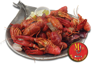 MJ's steamed crawfish